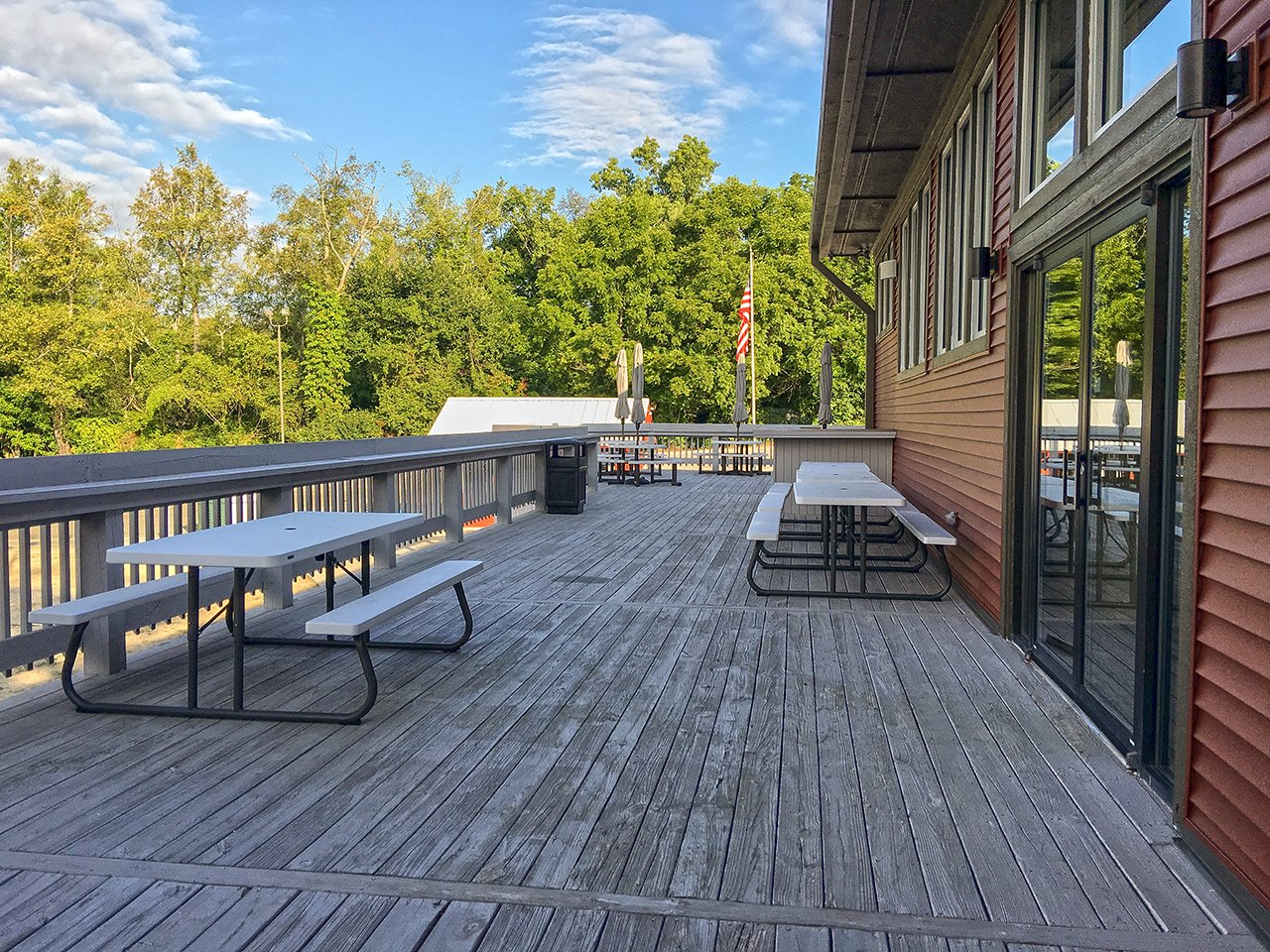 The deck at LCC