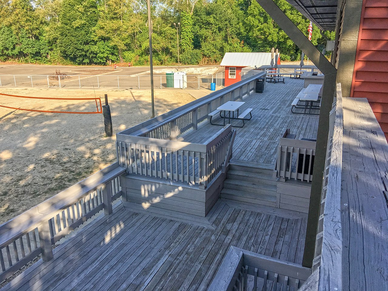 Overview of the deck